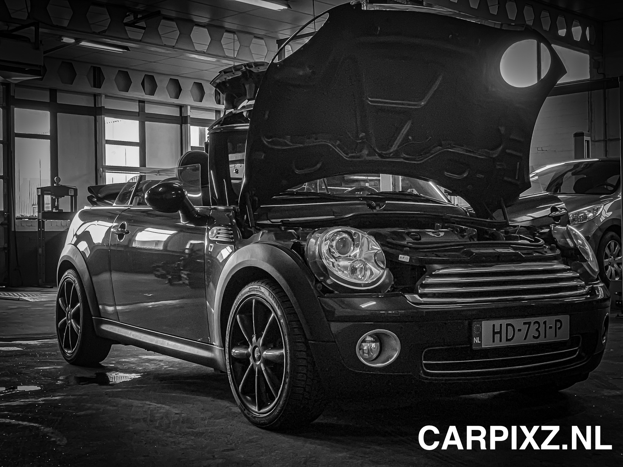 New Mini Cooper Cabrio r57